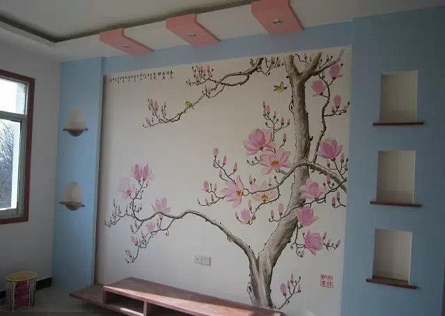 墙绘是具有艺术价值的作品 !